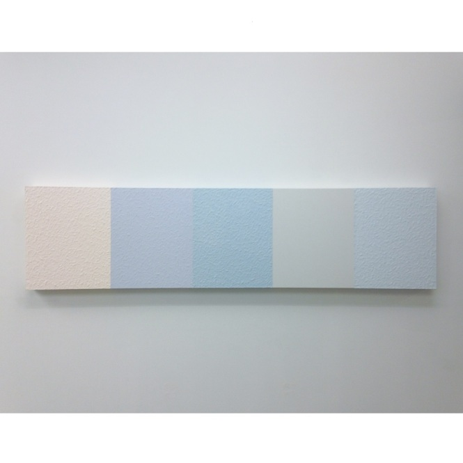 Brechner, Reid, Untitled (Patient), Latex house paint on canvas, 8 x 2 feet, 2016.jpg