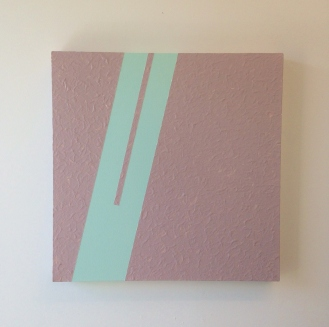 Hawaii 5-0 Latex house paint on canvas 2 x 2 feet 2015